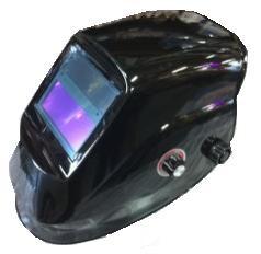 Welding Helmet – Gloss Black – Auto-Darkening – SolarC.P.S