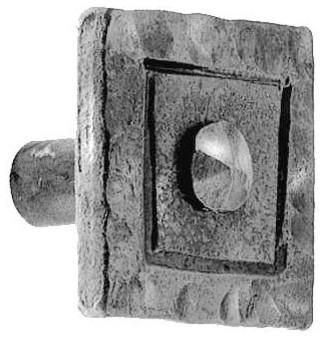 Chiseled Square Drawer Pull