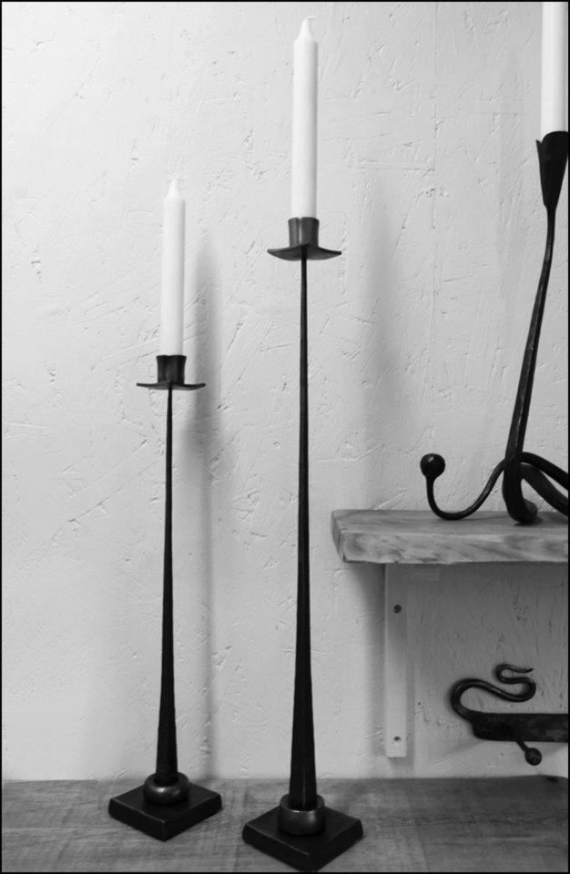 Tall Standing Candle Holder