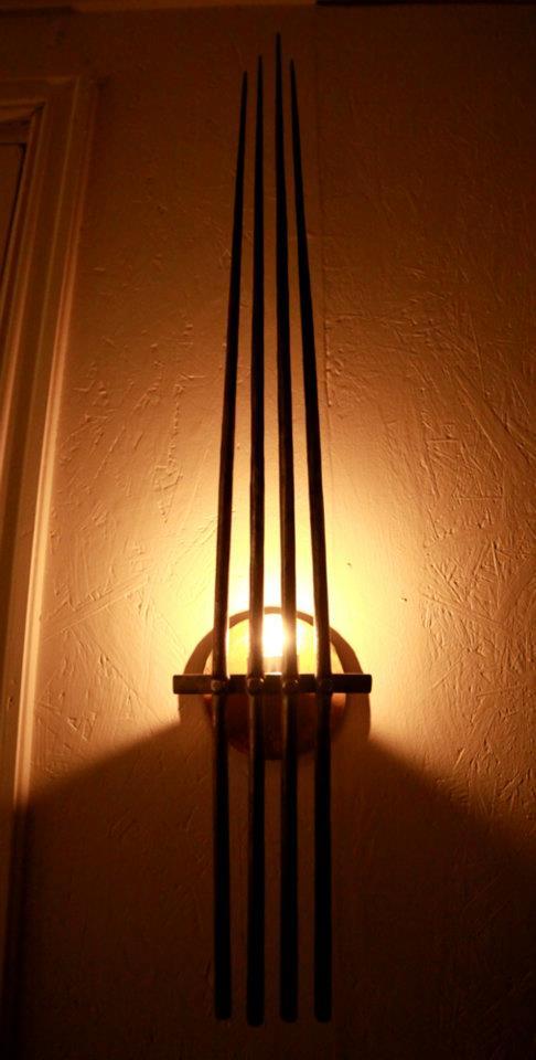 wall candleholder