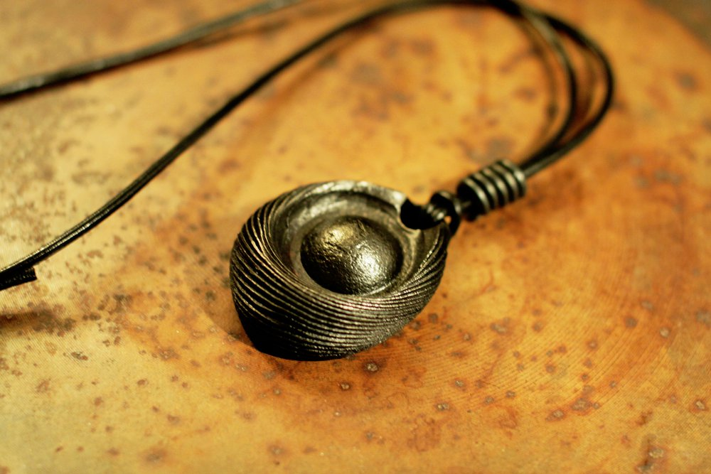 Forged Sphere Necklace